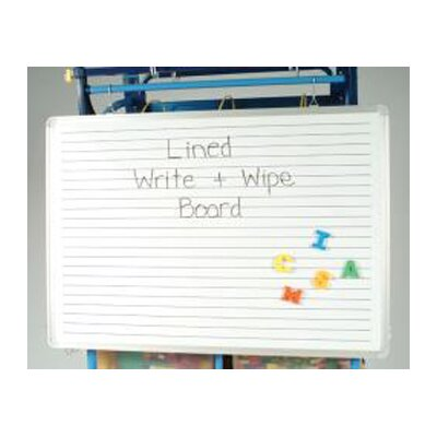 Copernicus Magnetic Lined Dry Erase Board