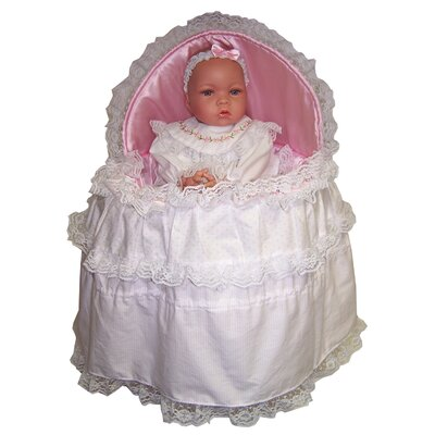 Molly P. Originals Baby Lisa with Soft Basket Set