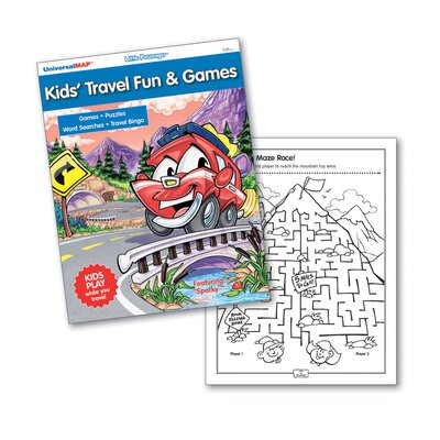 Universal Map Kids' Travel Fun & Games