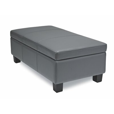 Sofas to Go Redington Leather Sotrage Ottoman