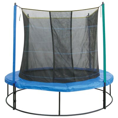 Pure Fun 8' Round Trampoline with Enclosure