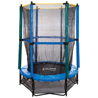 Pure Fun 55&quot; Trampoline and Enclosure Kid's Set