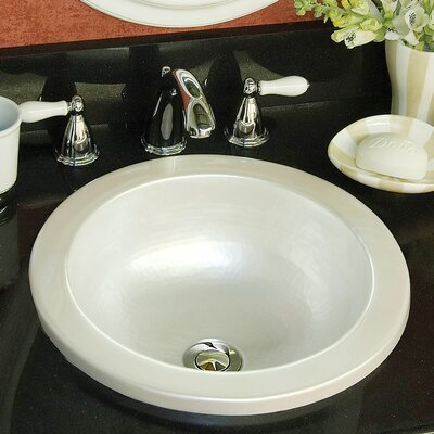 Advantage Series Elmwood Self Rimming or Undermount Round Bathroom Sink - 95