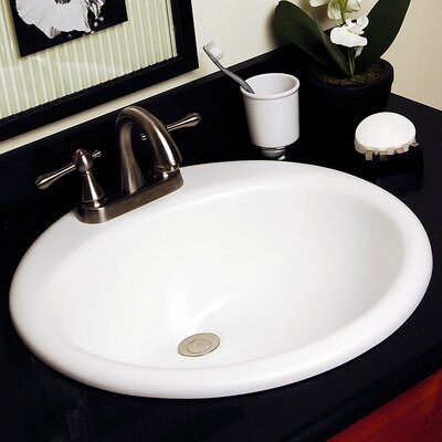 Advantage Series Anderson Self Rimming Round Bathroom Sink - 90