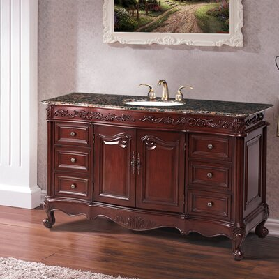 "Stufurhome Princeton 56"" Bathroom Vanity Set"
