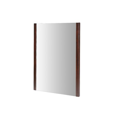 "Xylem Europa 23"" x 31.5"" Mirror in Dark Walnut"