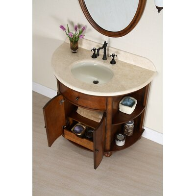 "Xylem Carlton 38"" Bathroom Vanity Set"