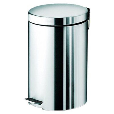 <strong>Gedy by Nameeks</strong> Argenta Large Pedal Waste Bin