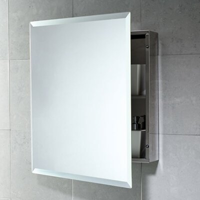 """Gedy by Nameeks Kora 20.1"""" x 23.6"""" Surface Mounted Medicine Cabinet"""