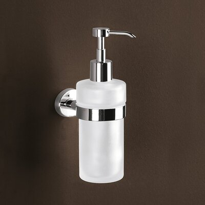 Gedy by Nameeks Texas Wall Mounted Soap Dispenser in Chrome