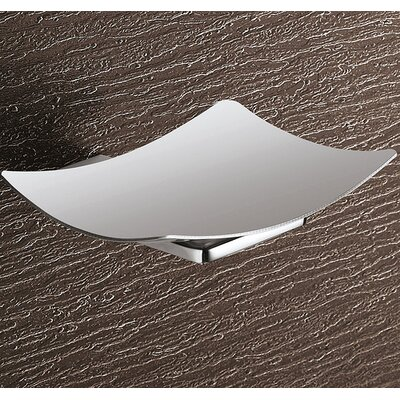 Gedy by Nameeks Kansas Wall Mounted Stainless Steel Soap Dish