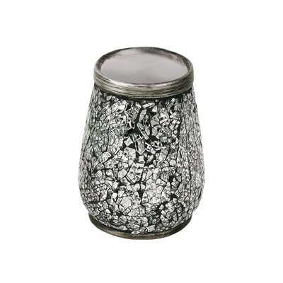 Gedy by Nameeks Myosotis Tooth Brush Holder in Silver