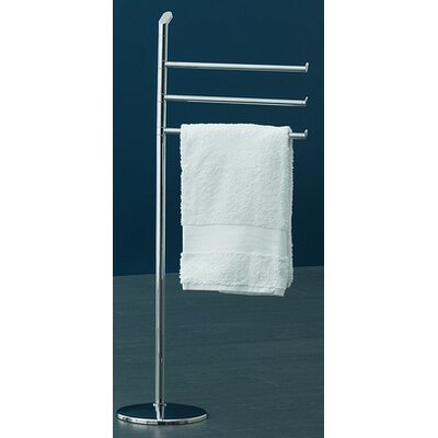 Gedy by Nameeks Karma Three Tier Towel Stand in Chrome