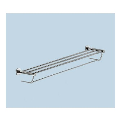 Gedy by Nameeks Edera Double Towel Shelf in Chrome
