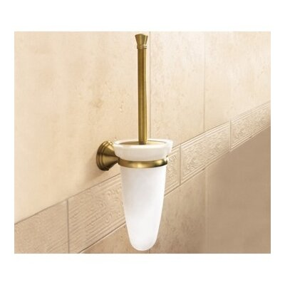 Gedy by Nameeks Romance Glass Wall Mounted Toilet Brush Holder