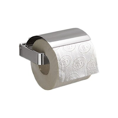 Gedy by Nameeks Lounge Toilet Paper Holder with Cover in Chrome