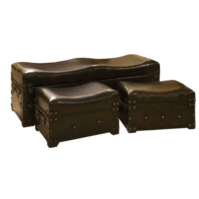 ch teau chic 3 piece storage accent bench set reviews. Black Bedroom Furniture Sets. Home Design Ideas