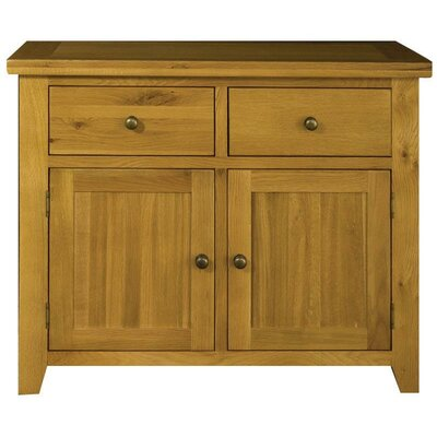 ortigara 2 door 2 drawer sideboard wayfair uk. Black Bedroom Furniture Sets. Home Design Ideas