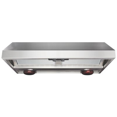 Advantage Professional Range Hood with Warming Light in Stainless Steel