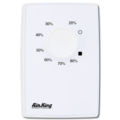 Air King Dehumidistat Switch in White