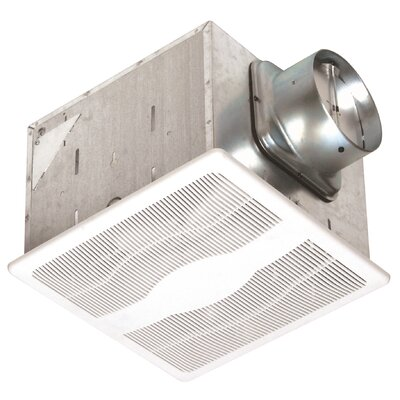 Dual Speed 80 CFM Energy Star Exhaust Bath Fan
