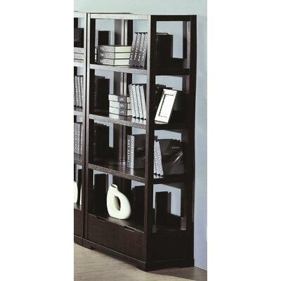"Beverly Hills Furniture Parson 73"" Bookcase"