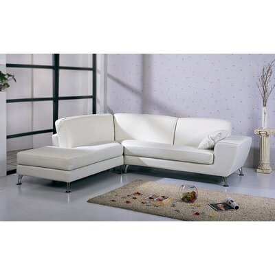 Julie Leather Sectional