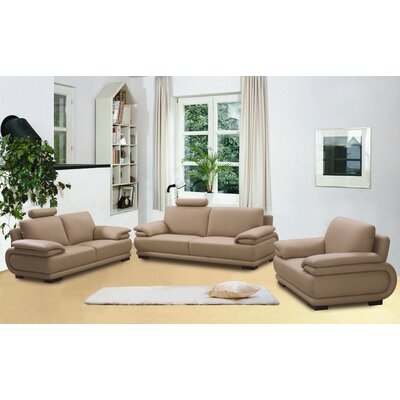 Beverly Hills Furniture Rhythm Leather Living Room Collection
