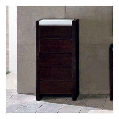 Hokku Designs Metro 5 Drawer Chest