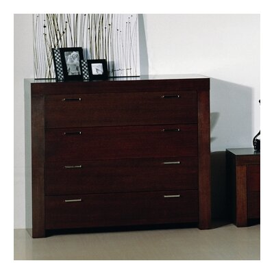Beverly Hills Furniture Traxler 4 Drawer Traxler Dresser