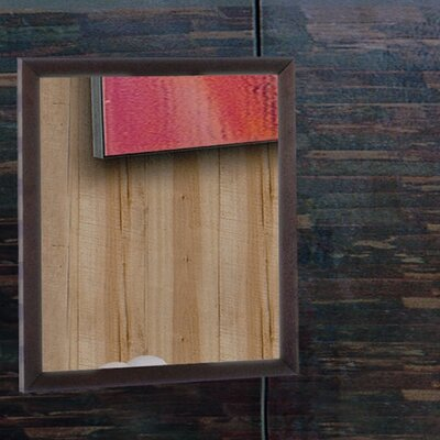 Hokku Designs Zen Mirror in Espresso