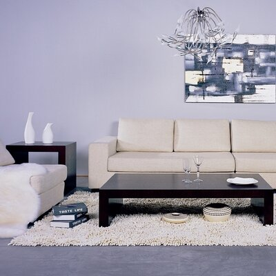 Beverly Hills Furniture Recluse Coffee Table Set
