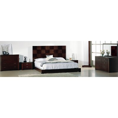 Beverly Hills Furniture Traxler Platform Bedroom Collection
