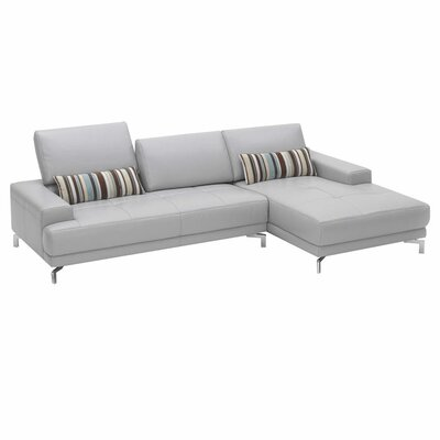 Hokku Designs Urban Leather Left- Chaise Sectional
