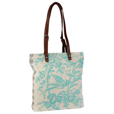 Amy Butler Blue Imperial Harper Tote Bag