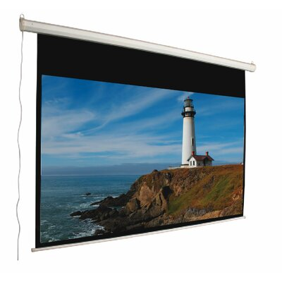 Mustang Matte White Electric Projection Screen