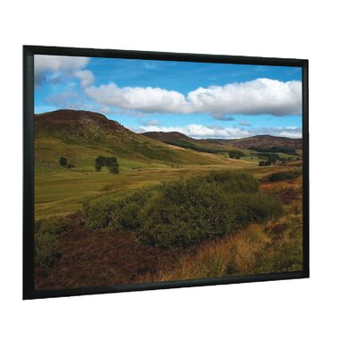 "Mustang Matt White 84"" Fixed Frame Projection Screen"