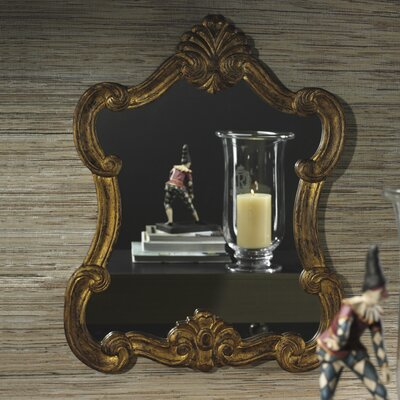Venezia Gold Leaf Wooden Wall Mirror