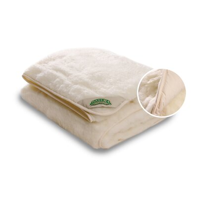 Reversible Wool on Top Mattress Pad