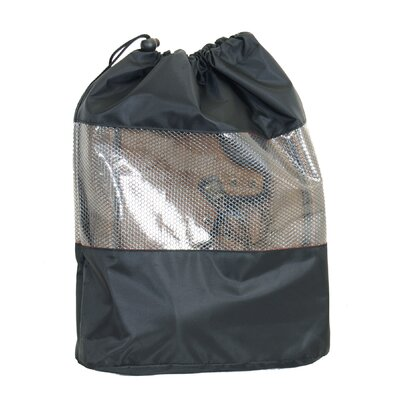 "Netpack 13"" Deluxe Footwear Packing in Black"