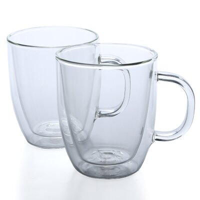 <strong>Bodum</strong> Bistro 15 oz Mug (Set of 2)