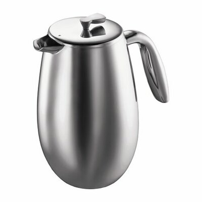 Columbia Double Wall Stainless Steel French Press Coffee Maker