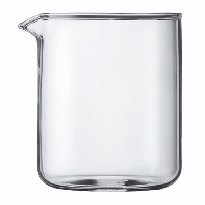 Bodum Spare Glass 4 Cup Plastic French Press Shatterproof Replacement Beaker