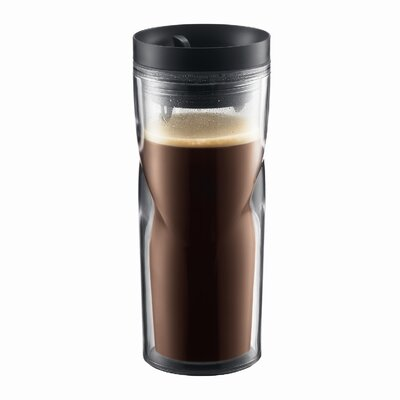 Bistro 15 Ounce Double-Walled Travel Mug