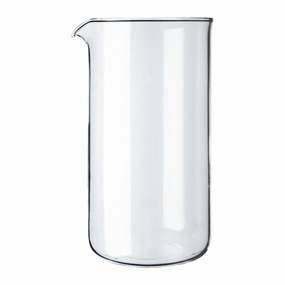Bodum Spare Glass 3 Cup Plastic French Press Shatterproof Replacement Beaker