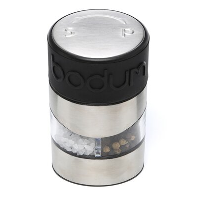 Bodum Twin Salt and Pepper Grinder in Black