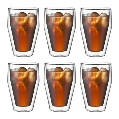 Bodum Thirst Double Wall Thermal Glass (Set of 6)
