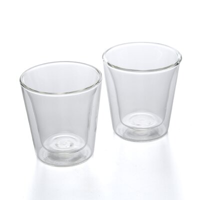 <strong>Bodum</strong> Canteen 3 oz Double Wall Insulated Glass (Set of 2)