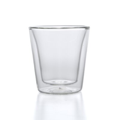 Bodum Canteen 3 oz Double Wall Insulated Glass (Set of 2)