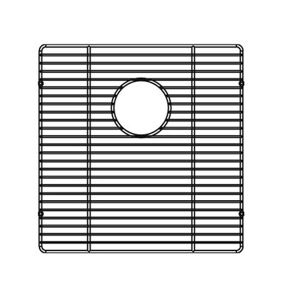 "Julien 16"" x 16"" Electropolished Grid for Kitchen Sink Bowl"